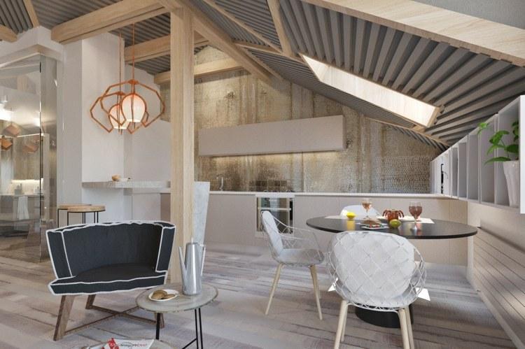Wohnzimmer Ideen Loft