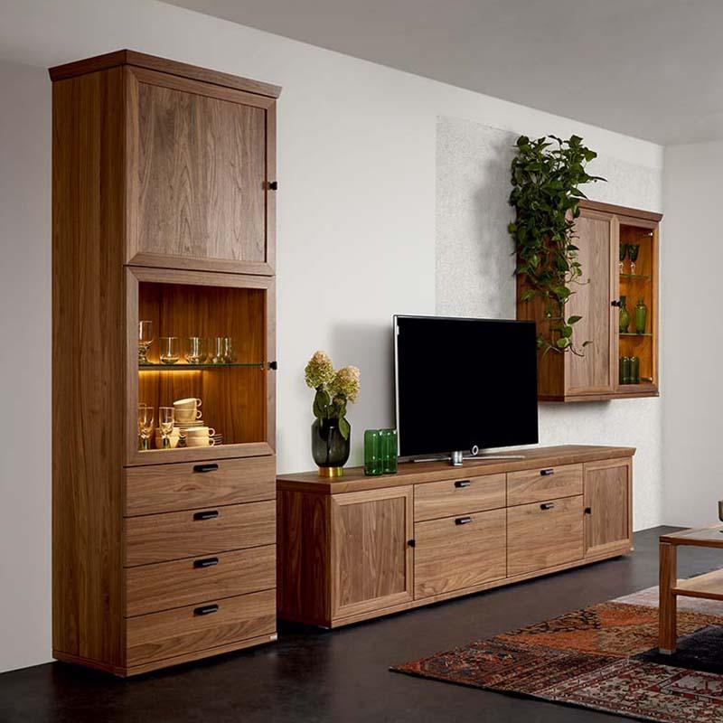 Wohnzimmer Ideen Nussbaum