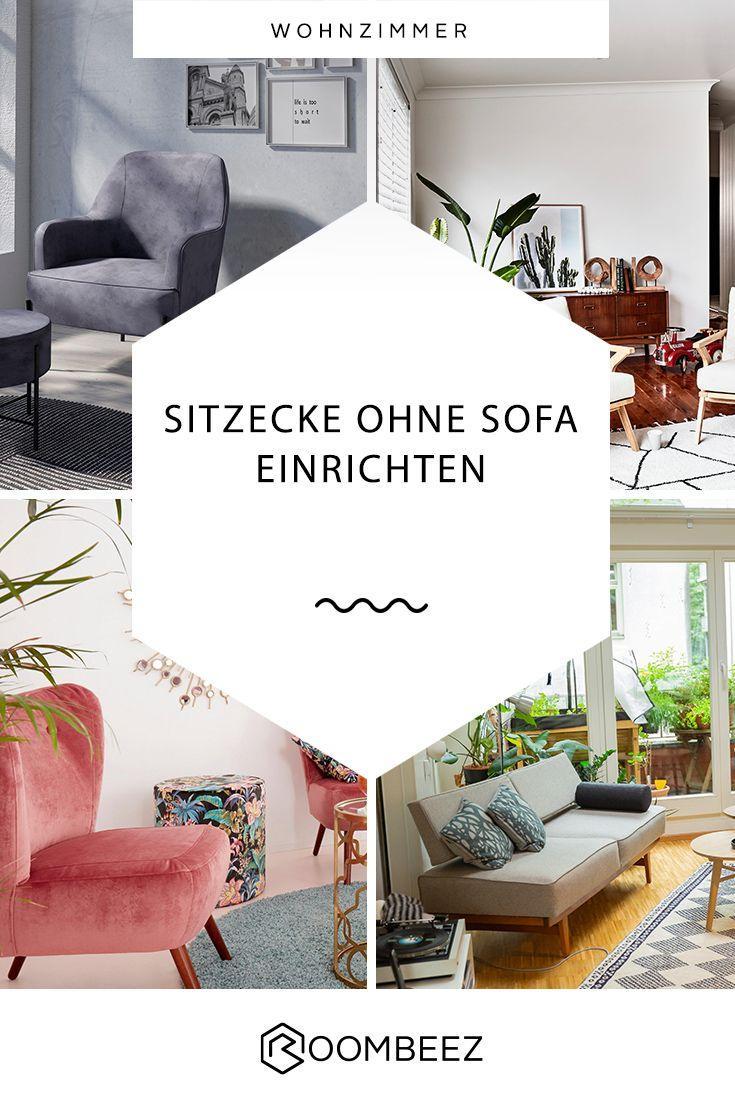 Wohnzimmer Ideen Ohne Sofa
