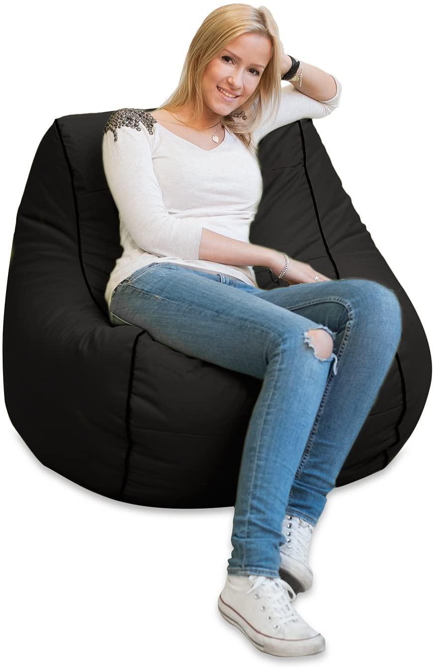 Wohnzimmer Ideen Sitzsack