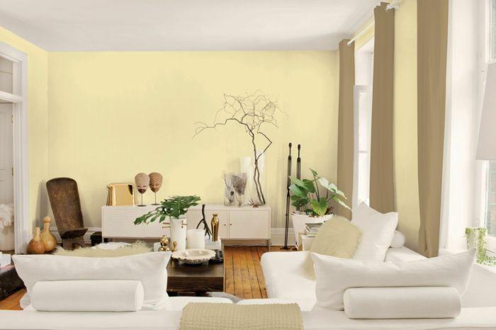 Wohnzimmer Ideen Weiße Möbel