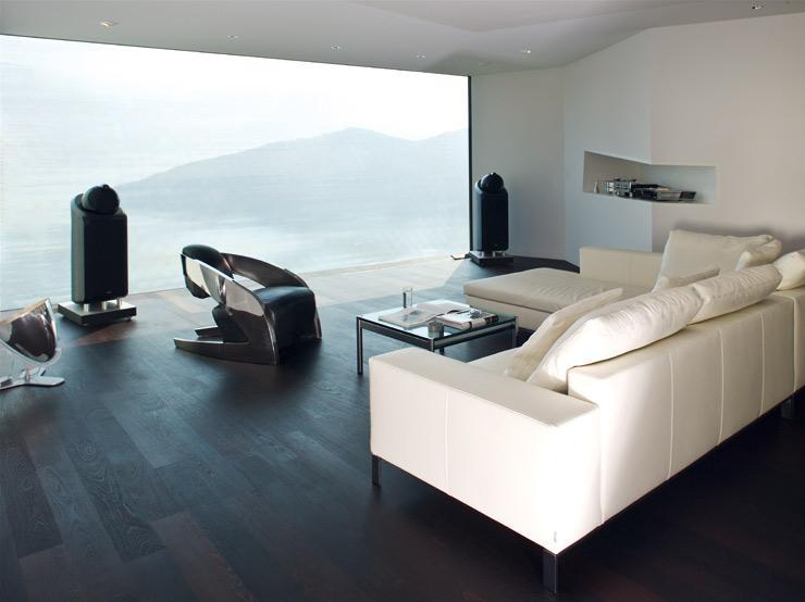 Wohnzimmer In Braun Weiß