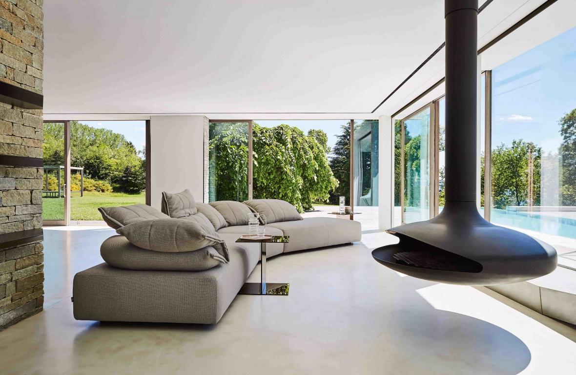 Wohnzimmer In Grau Beige