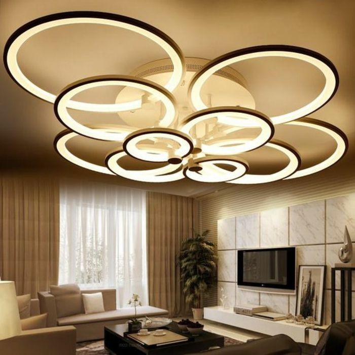 Wohnzimmer Lampe Modern Groß