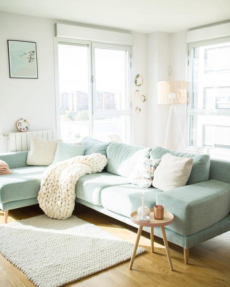 Wohnzimmer Mint Beige