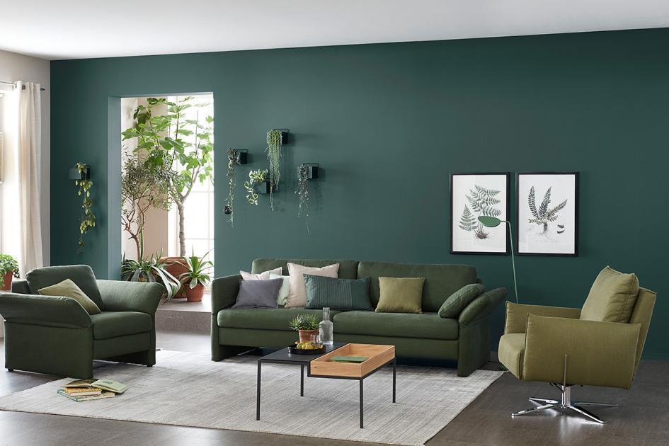 Wohnzimmer Mintgrün Deko