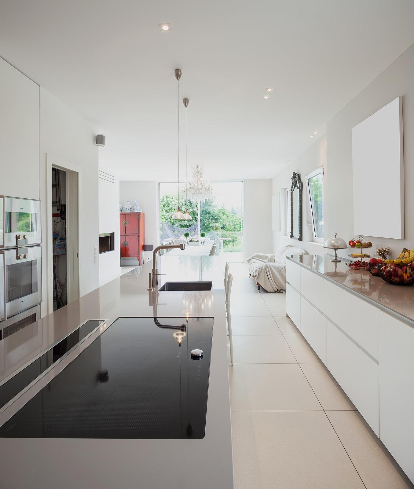 Wohnzimmer Mit Küche Klein