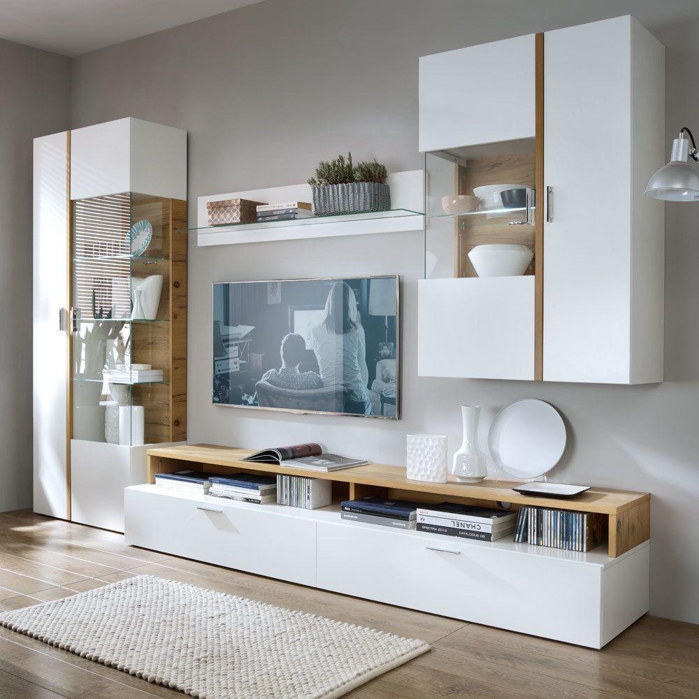 Wohnzimmer Modern Wohnwand