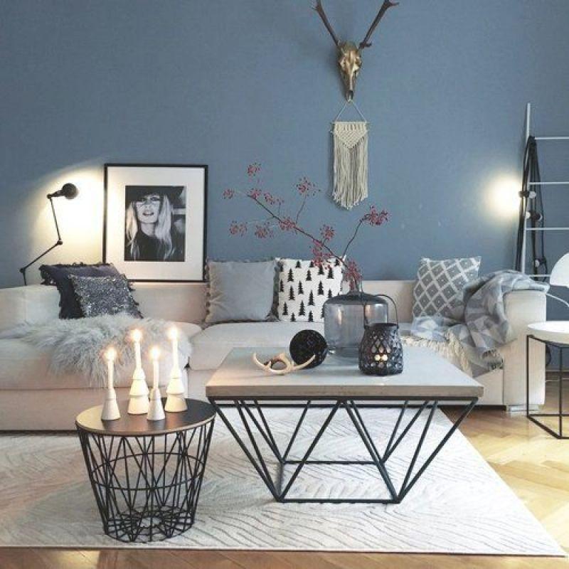 Wohnzimmer Pinterest Wandfarbe
