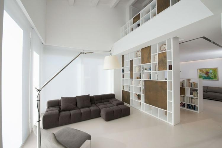 Wohnzimmer Raumteiler Regal