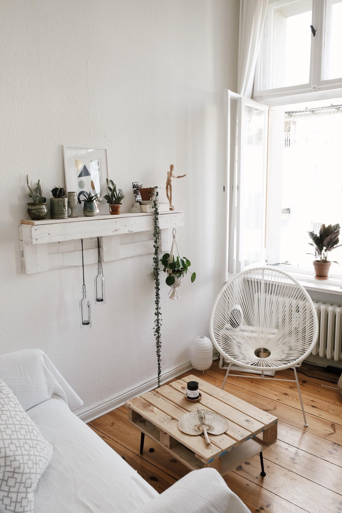 Wohnzimmer Regal Aus Paletten