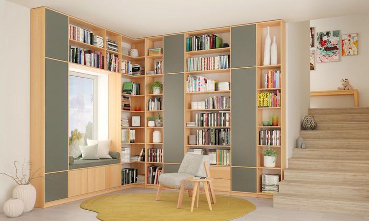 Wohnzimmer Regal Für Holz