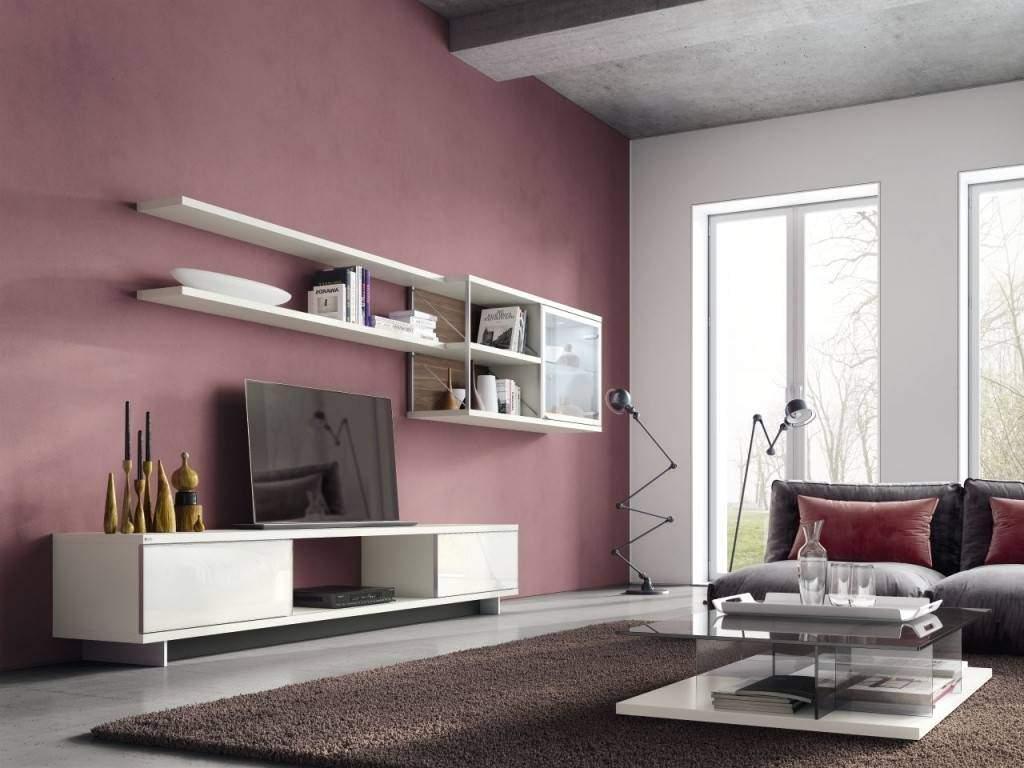 Wohnzimmer Rosa Deko