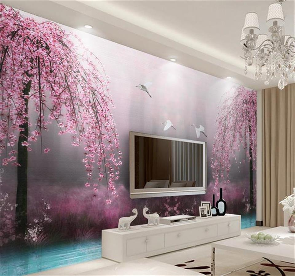 Wohnzimmer Rosa Wand