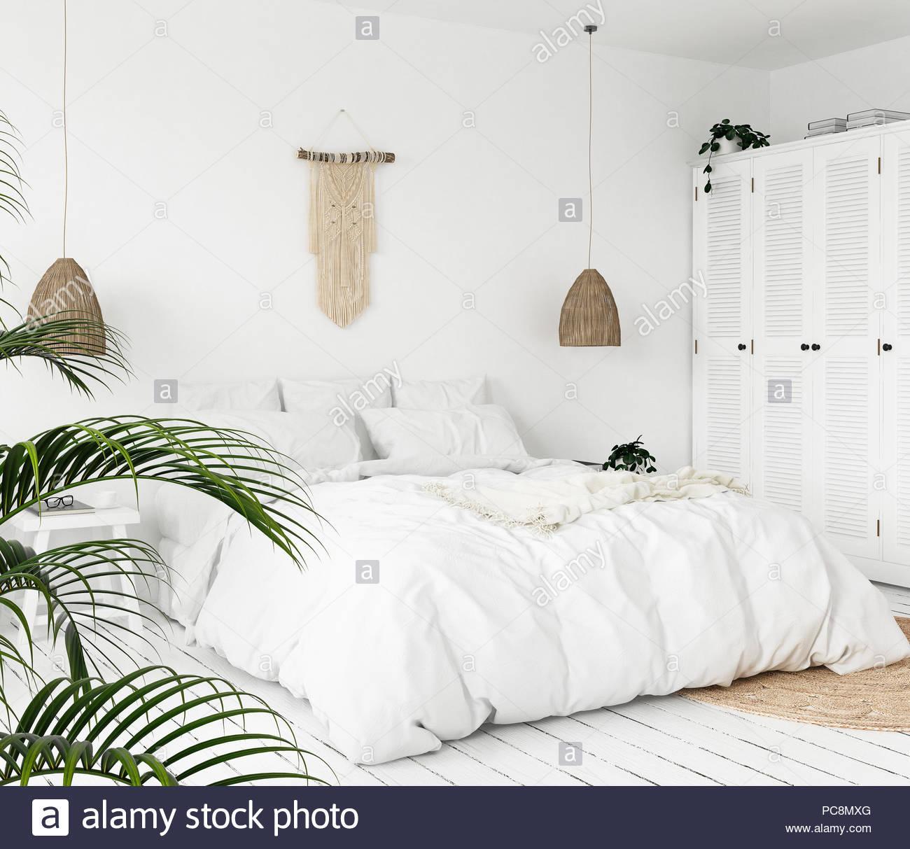 Wohnzimmer Scandi Boho