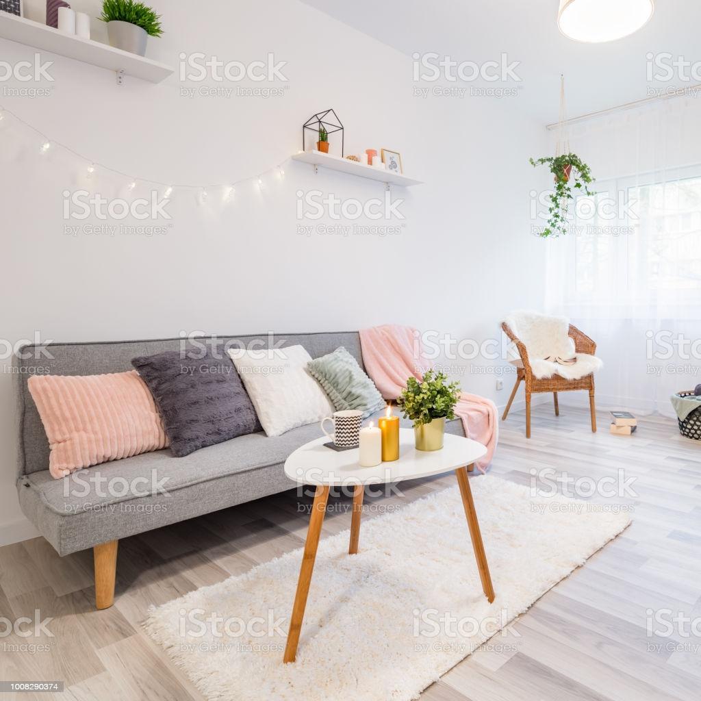 Wohnzimmer Scandi Stil