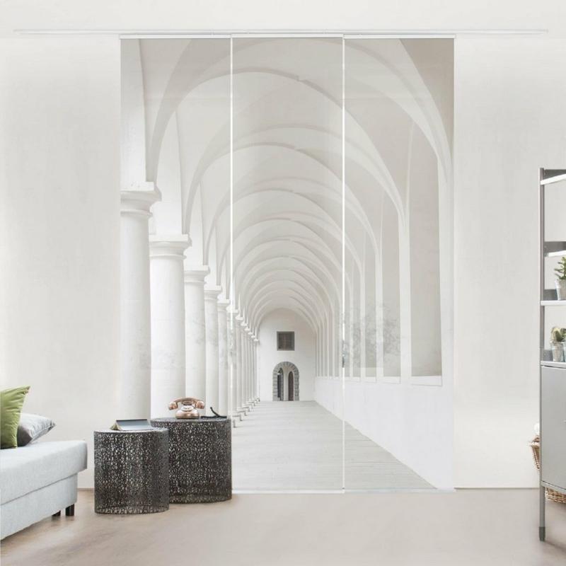 Wohnzimmer Schiebegardinen Modern