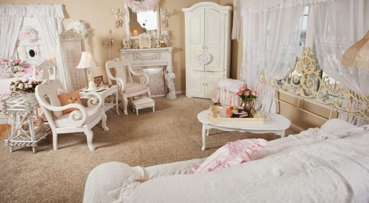 Wohnzimmer Shabby Chic Möbel