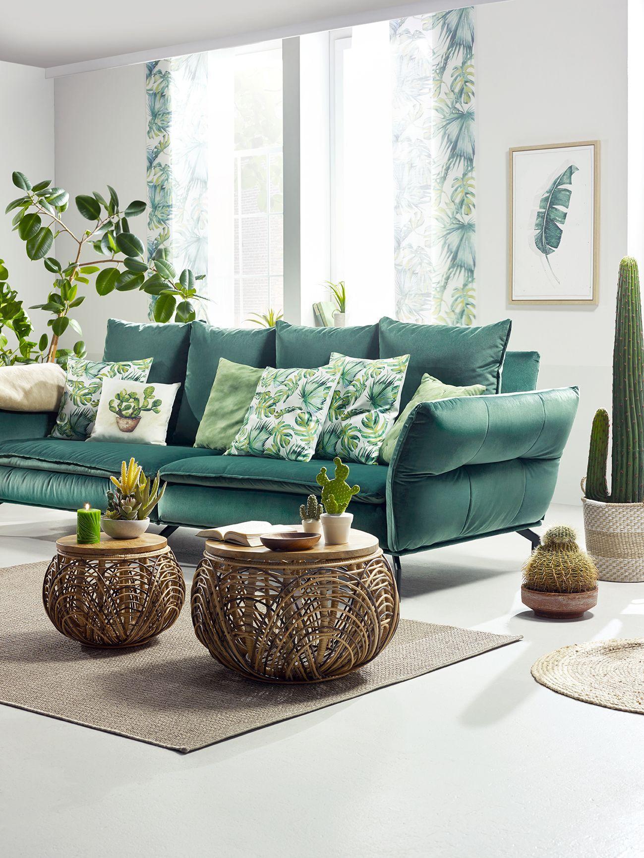 Wohnzimmer Sofa Grün