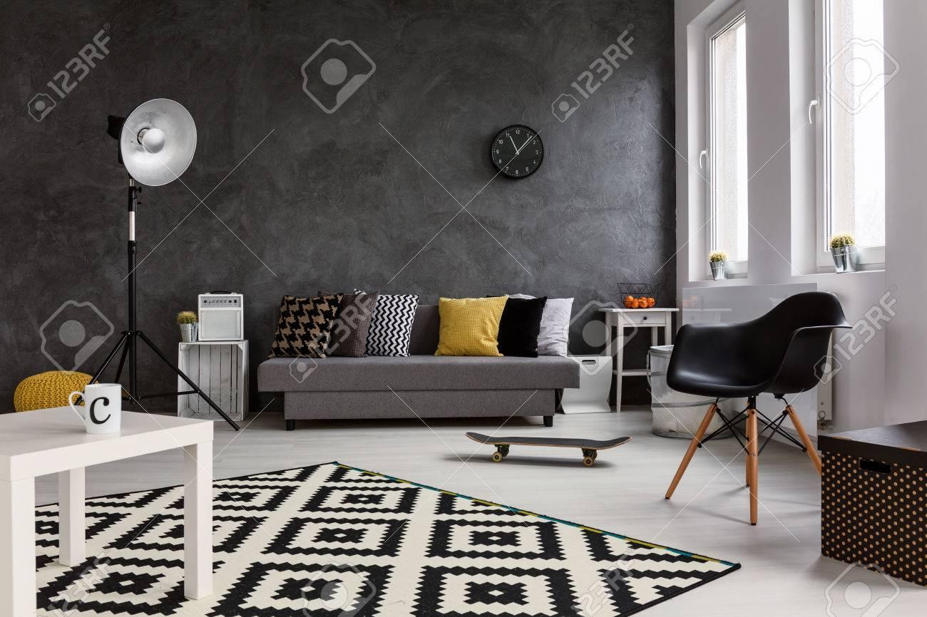 Wohnzimmer Stehlampe Grau
