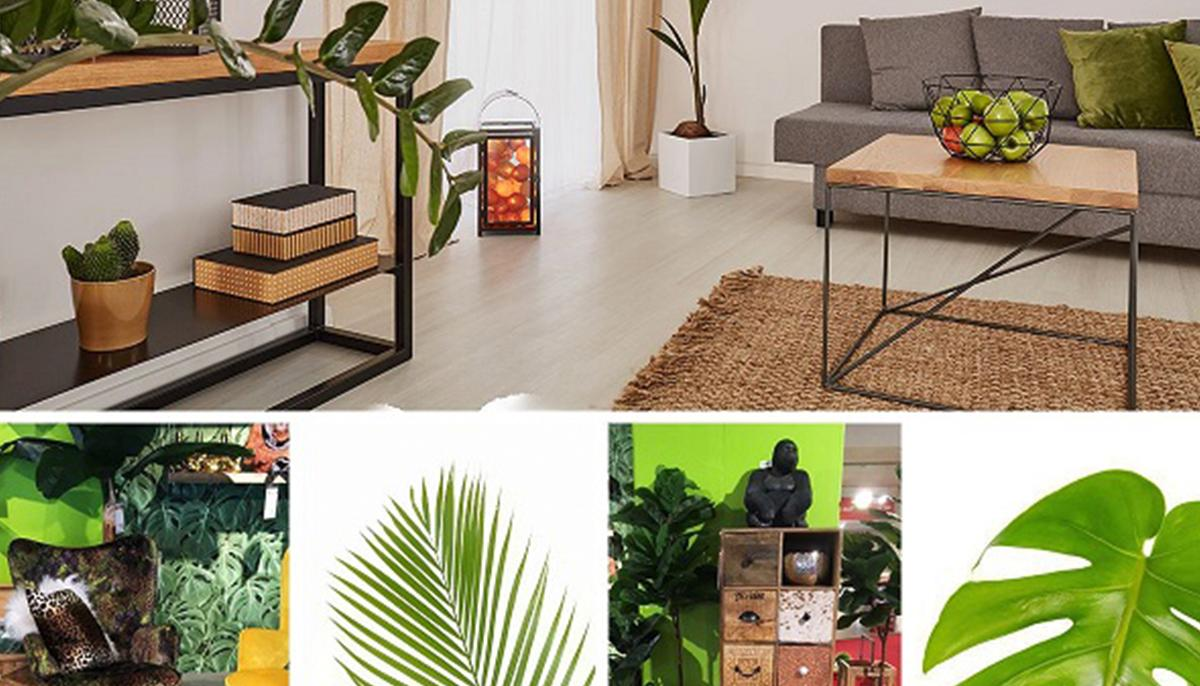 Wohnzimmer Urban Jungle Pflanzen