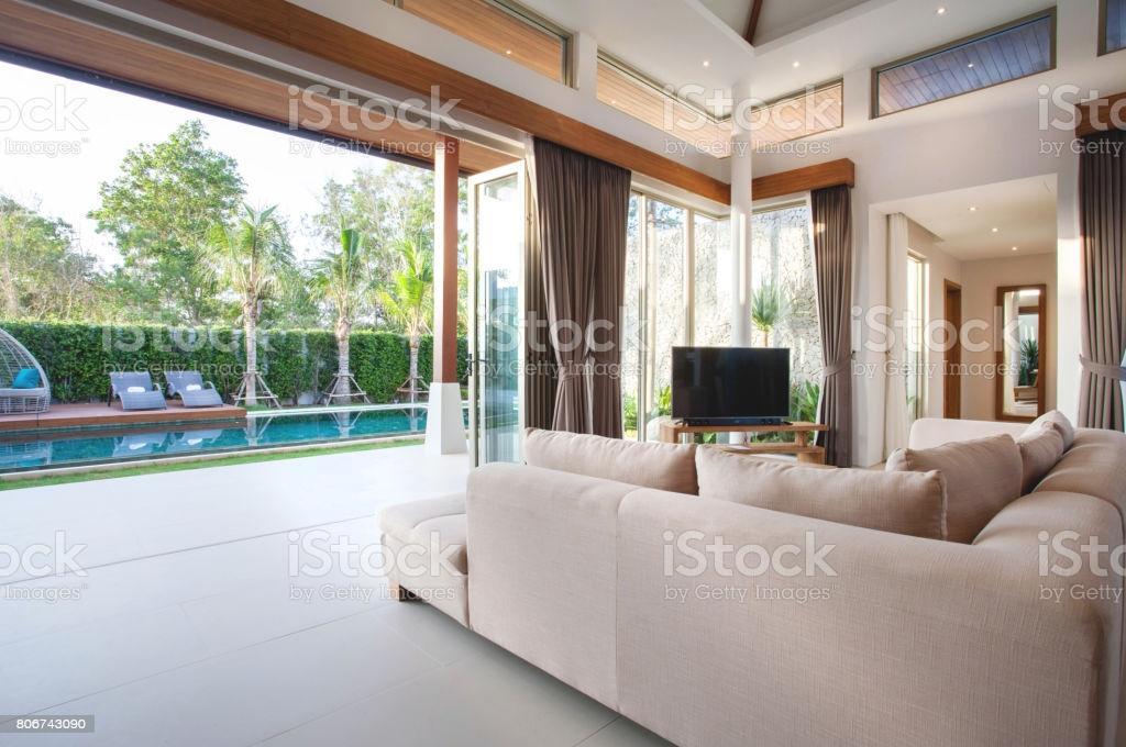 Wohnzimmer Villa Inneneinrichtung