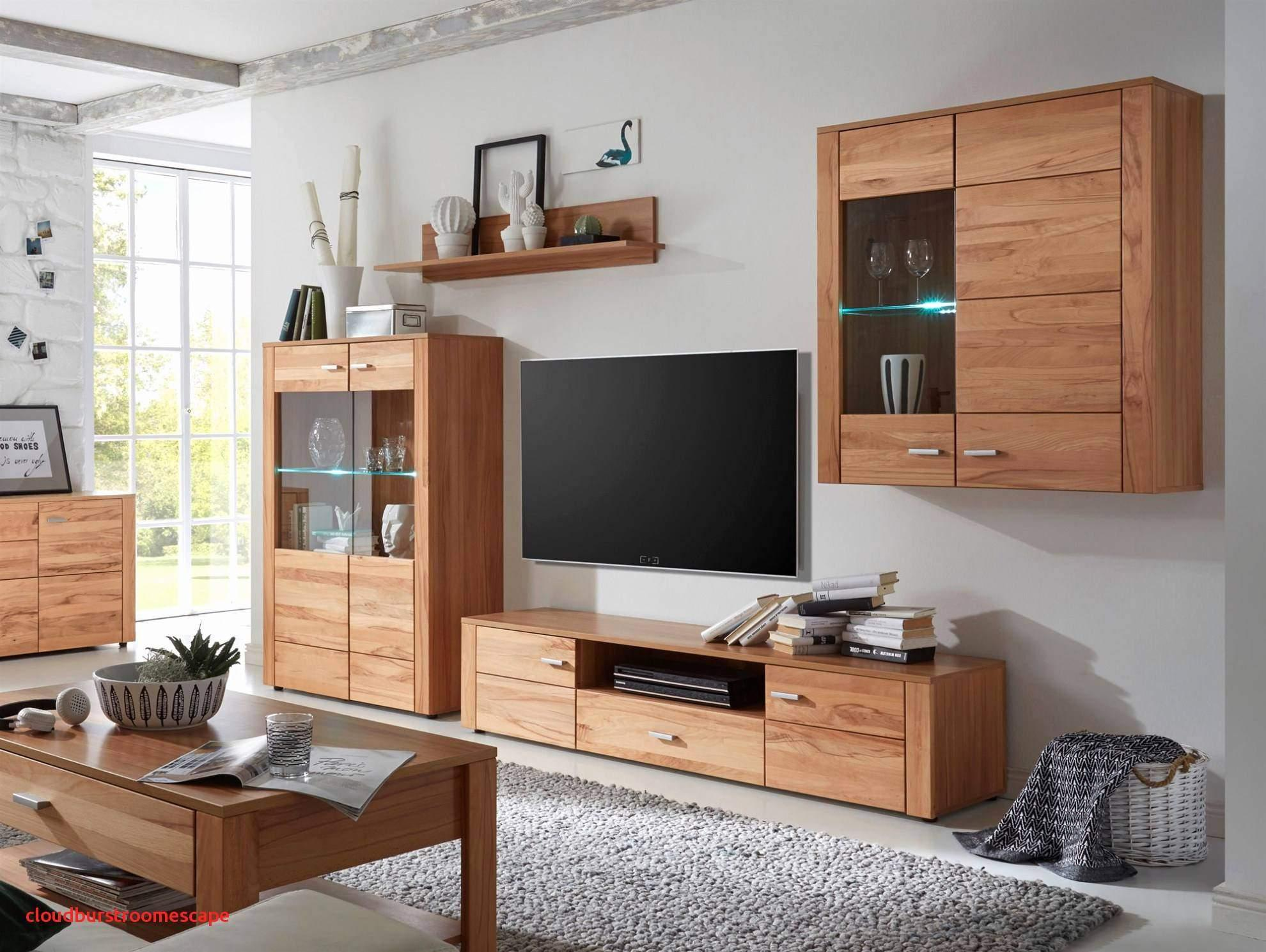 Wohnzimmer Wand Echtholz
