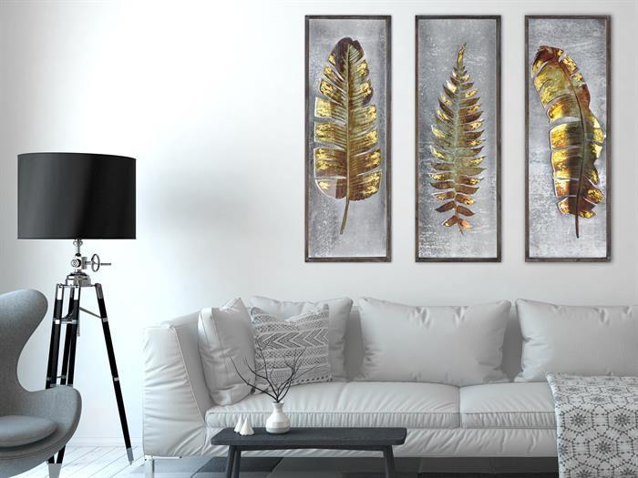 Wohnzimmer Wandbilder Set