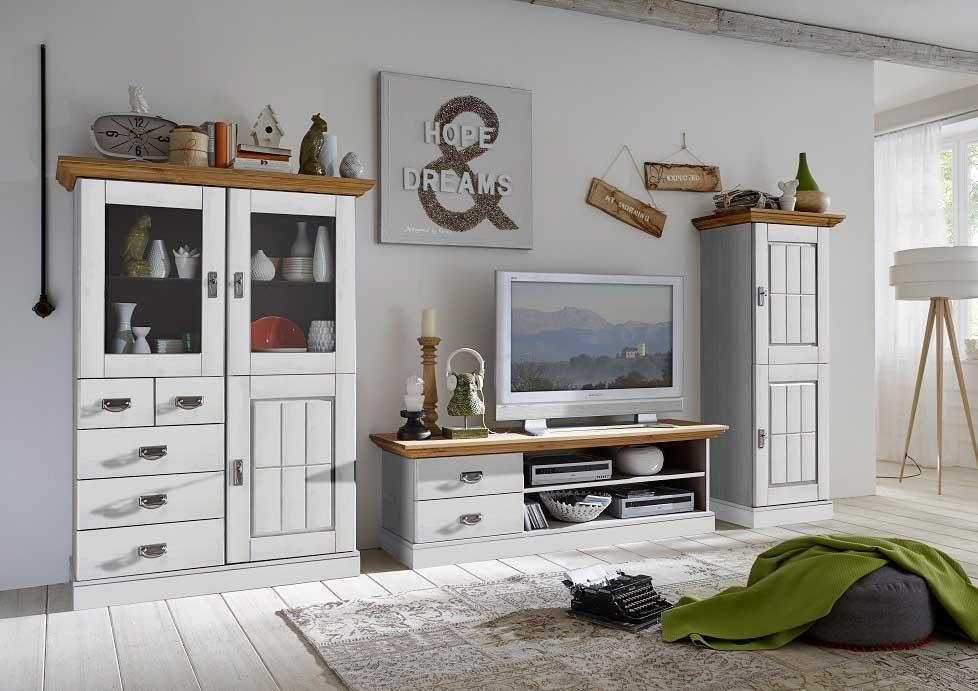 Wohnzimmermöbel Landhausstil Modern
