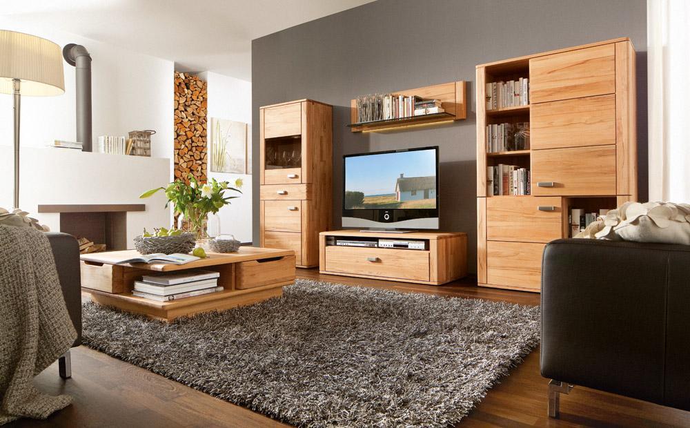 Wohnzimmermöbel Massiv Modern