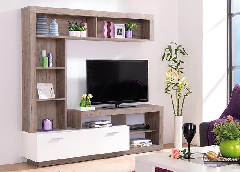 Wohnzimmermöbel Weiß Holz