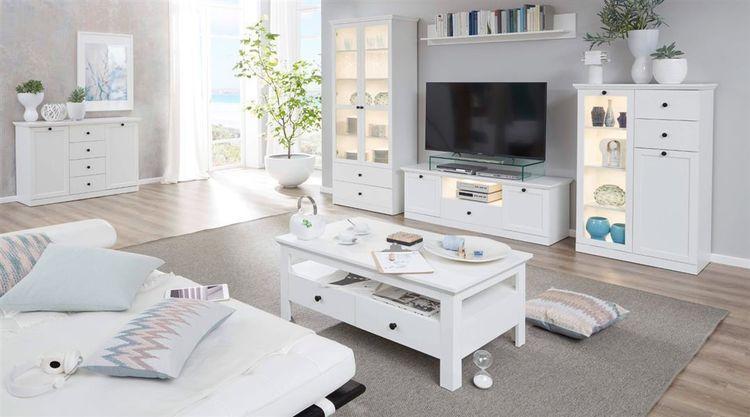 Wohnzimmermöbel Weiß Landhaus
