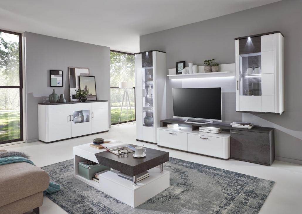 Wohnzimmermöbel Weiß Modern