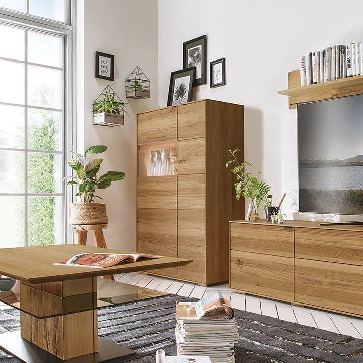 Wohnzimmerschrank Echtholz Modern