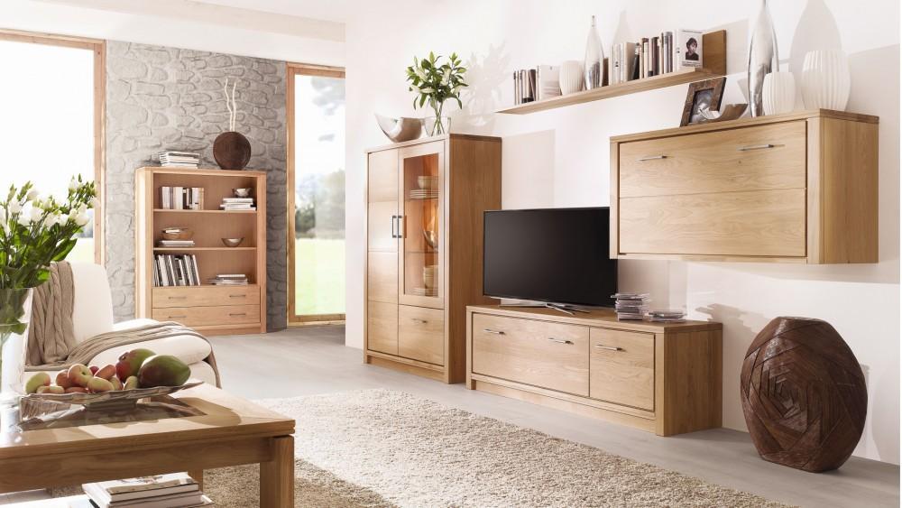 Wohnzimmerschrank Massiv Modern
