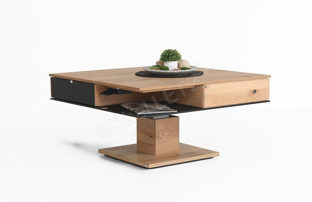 Wohnzimmertisch Holz Höhenverstellbar