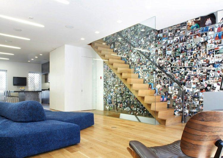 Wohnzimmerwand Ideen Bilder