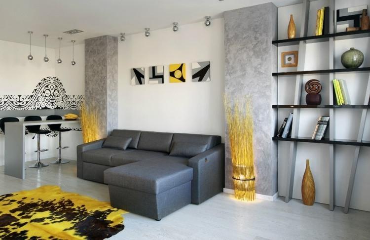 Wohnzimmerwände Ideen Wände Gestalten