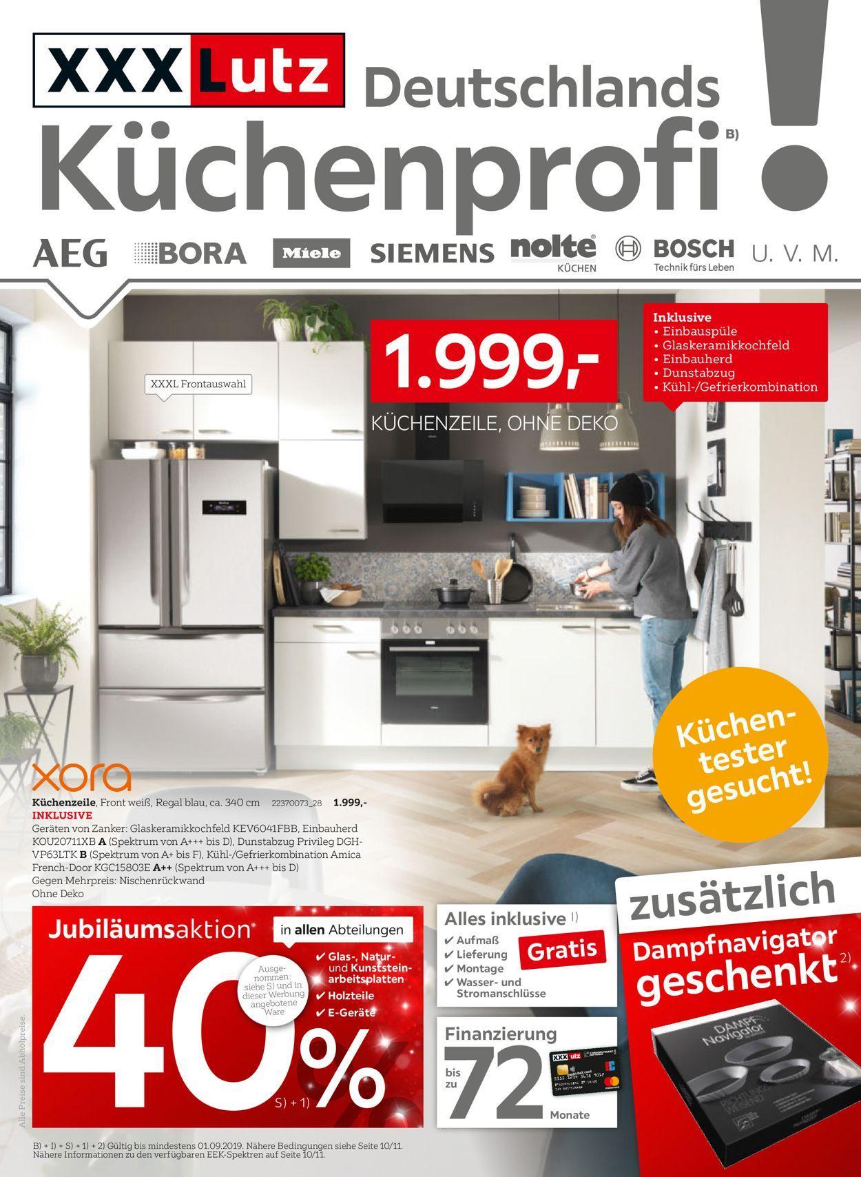 Xxl Lutz Küchen Angebote