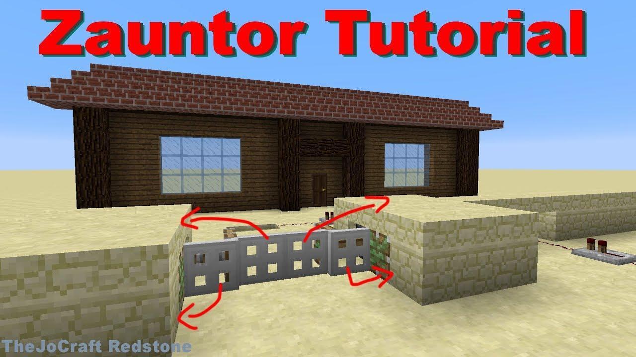 Zaun Bauen Minecraft