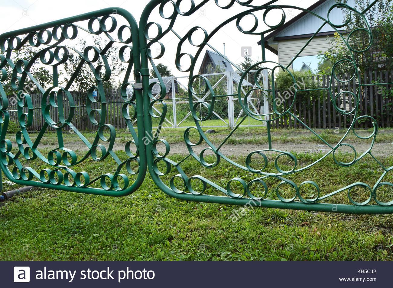Zaun Garten Metall