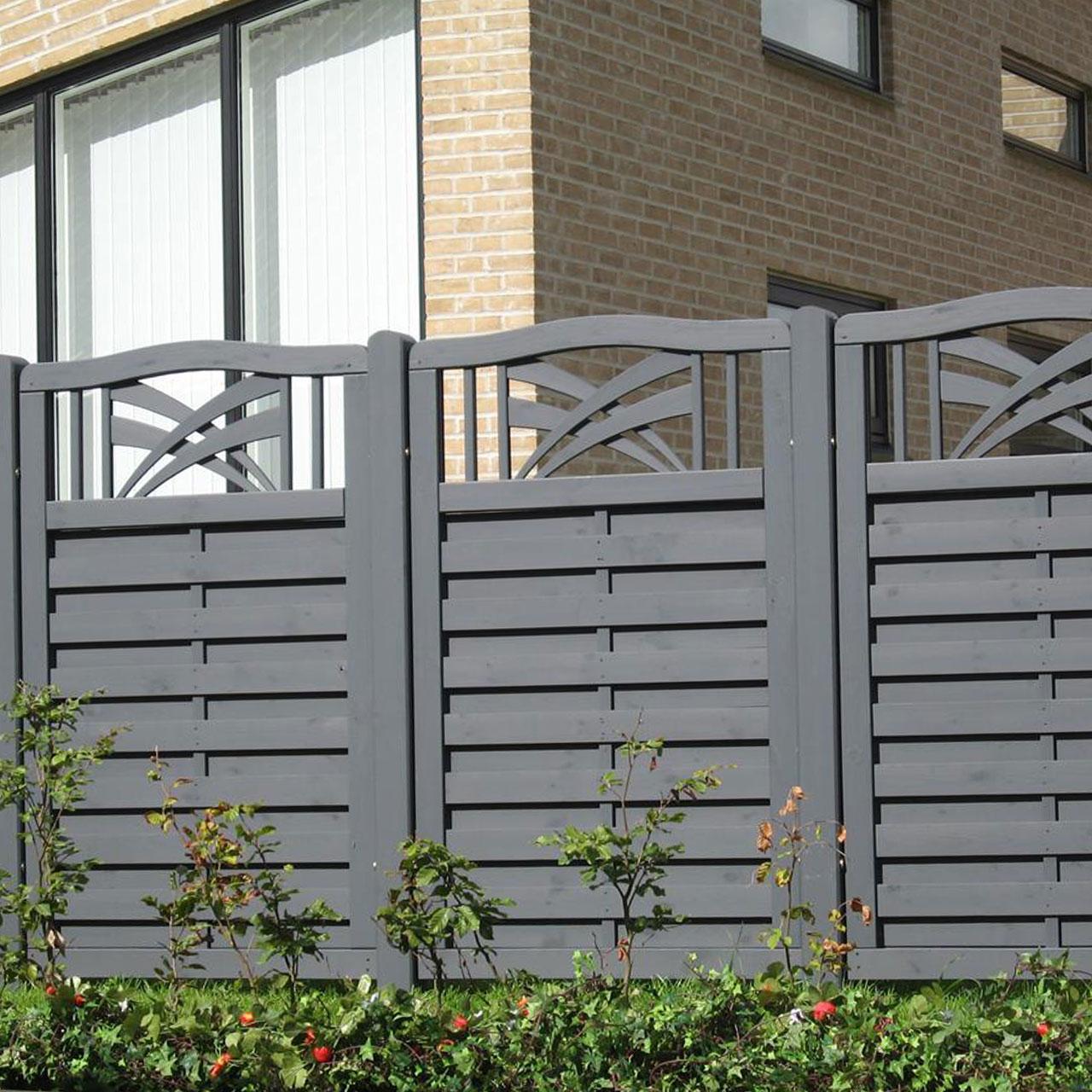 Zaunelemente Sichtschutz Holz