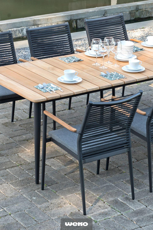 Zebra Gartenmöbel Tisch