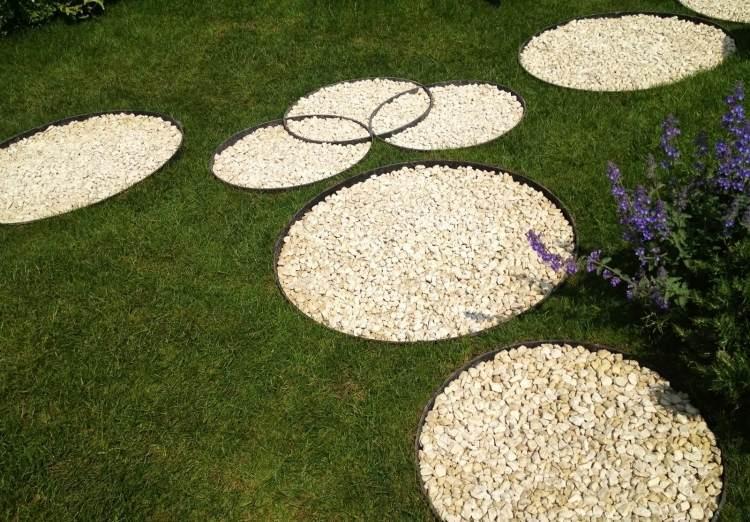 Ziersteine Garten Ideen