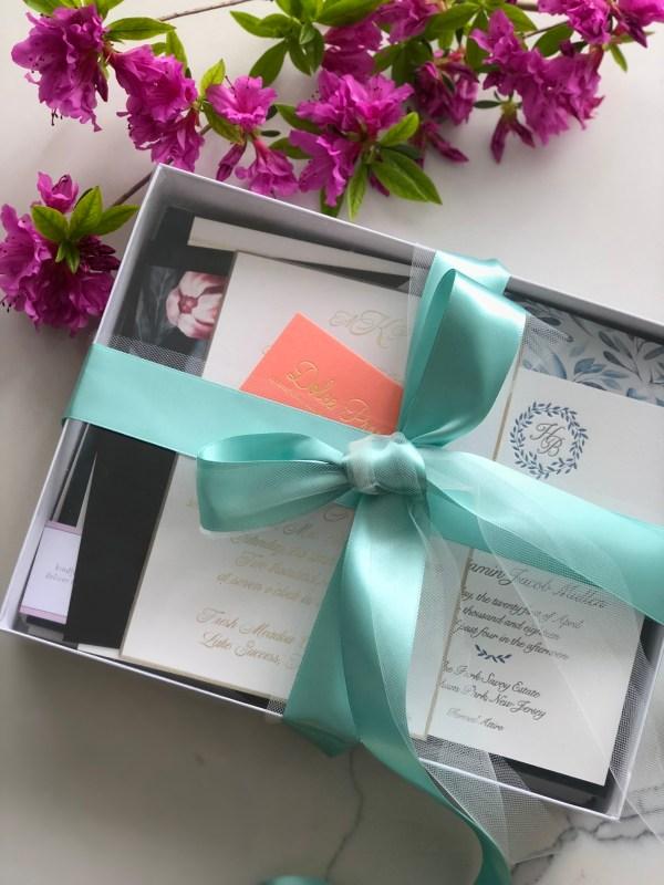Wedding Invitation Sample Box