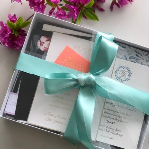 Wedding Invitation Sample Box