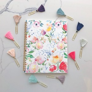 Watercolor Floral Notebook