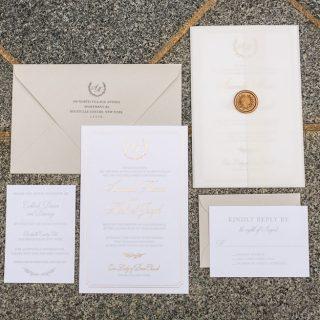 Amanda + Michael - Wedding Invite Suite