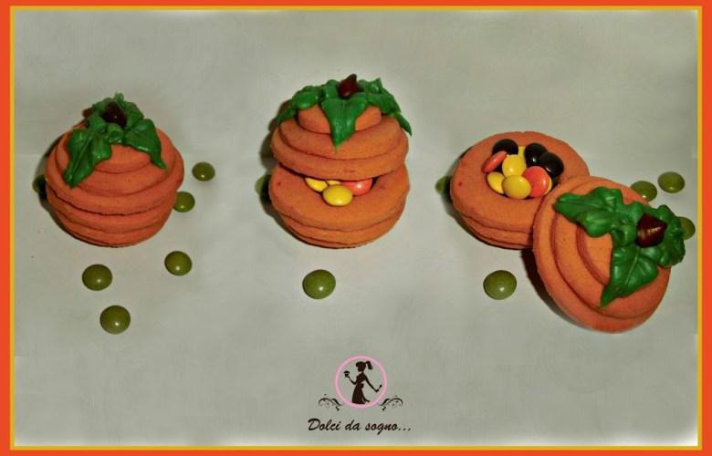 Zucche di Halloween in 3D