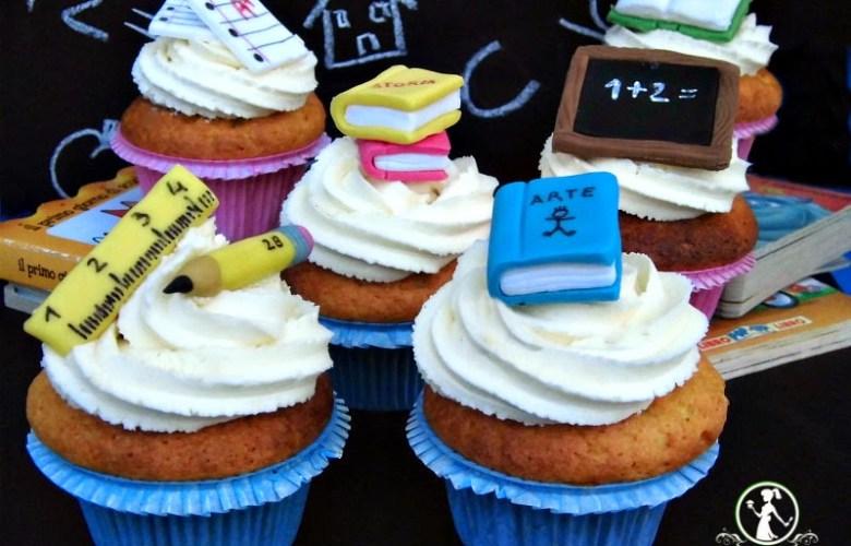 cupcake ritorno a scuola